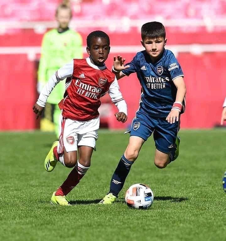 Arsenal sign nine-year-old Munir Sada from Kaduna