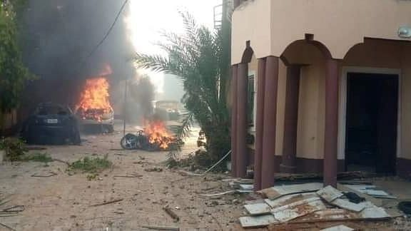 Angry youths burn Sokoto Commissioner's house, destroy district head's vehicles