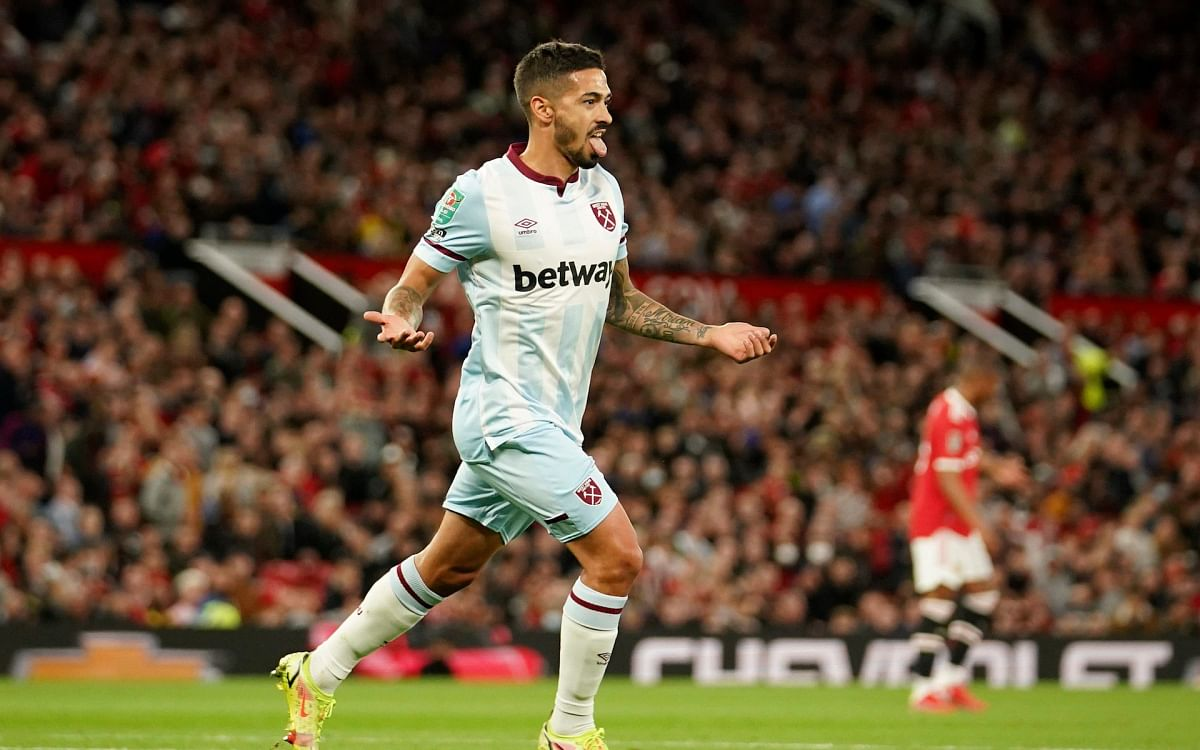 JUST IN: West Ham eliminate Man United from Carabao Cup