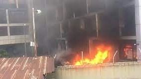 NPA's fire triggered by electrical spark - Spokesman