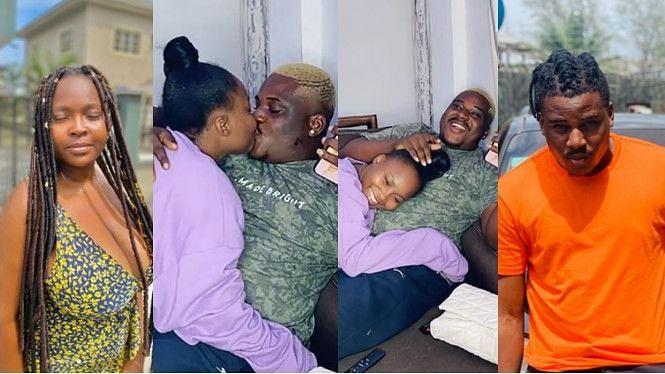 Comedians Bae U, Kemz Mama aka Mummy Wa spark dating rumours with loved-up video