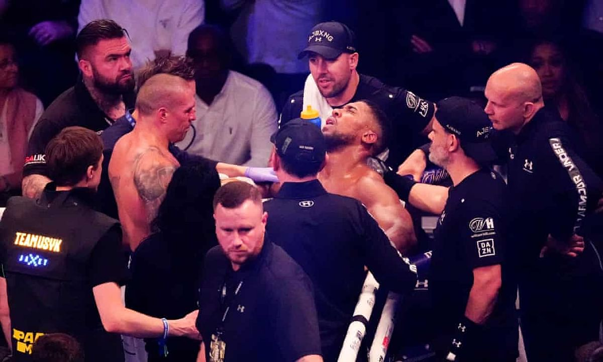 Devastated Anthony Joshua'll activate rematch clause, says promoter Hearn