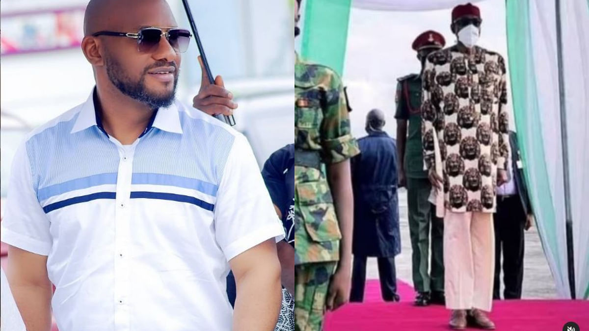 VIDEO: Buhari's trousers, least of Nigeria's problem - Actor Yul Edochie