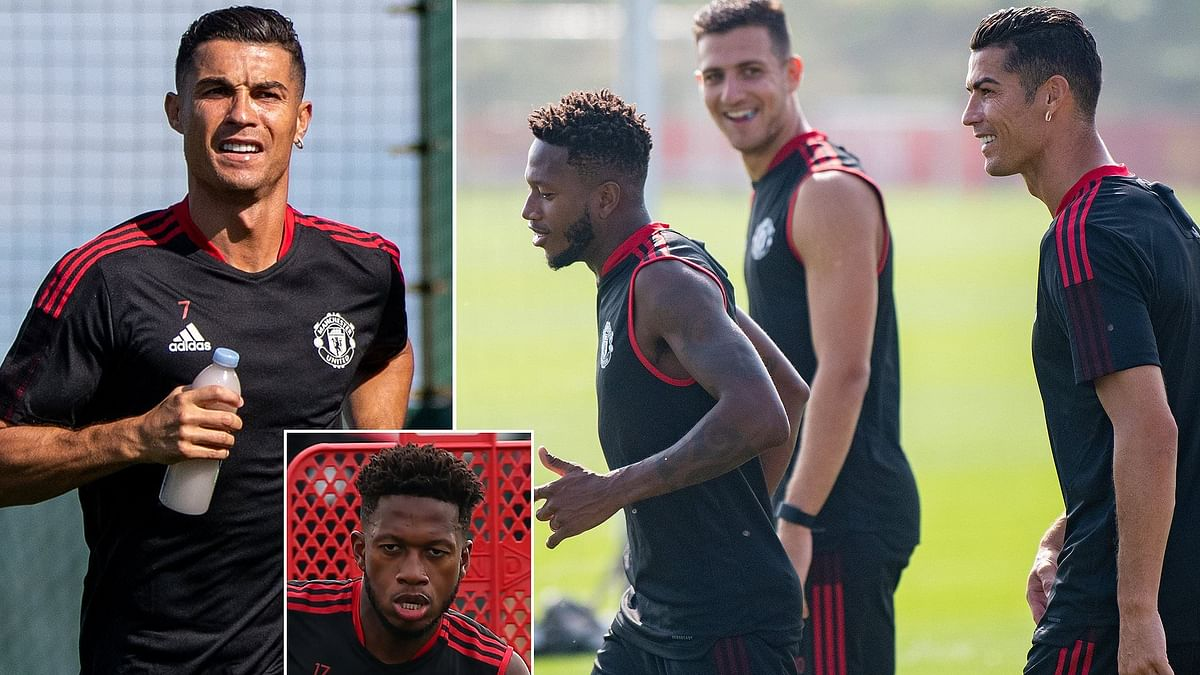 Ronaldo's brought sun to Old Trafford - Fred
