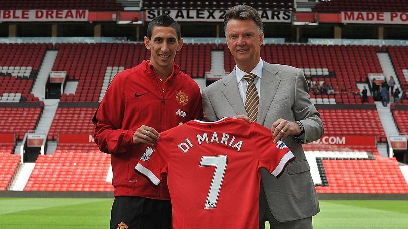 'I didn't give a f**k about No. 7 shirt' -  Di Maria slams Man United, Louis van Gaal
