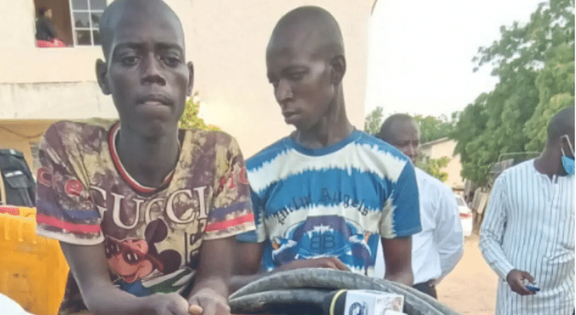Police arrest two over transformer vandalism, armoured cable theft