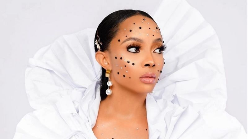 What attracts fine men to 'ugly' women, Toke Makinwa asks
