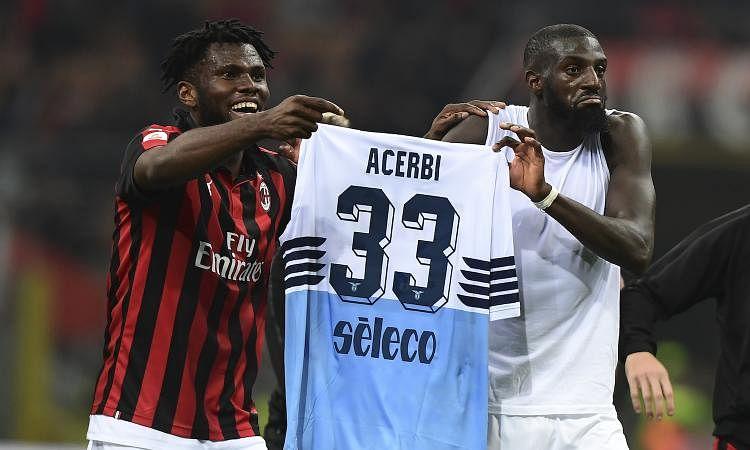 Prosecutors probe alleged racist chants by Lazio fans in Milan clash