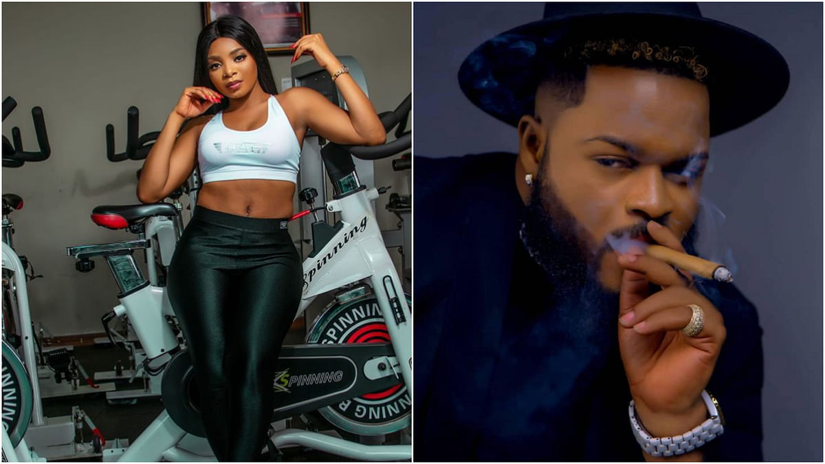 BBNaija: I won't kiss or grab Angel boobs, Whitemoney reassures Queen of commitment