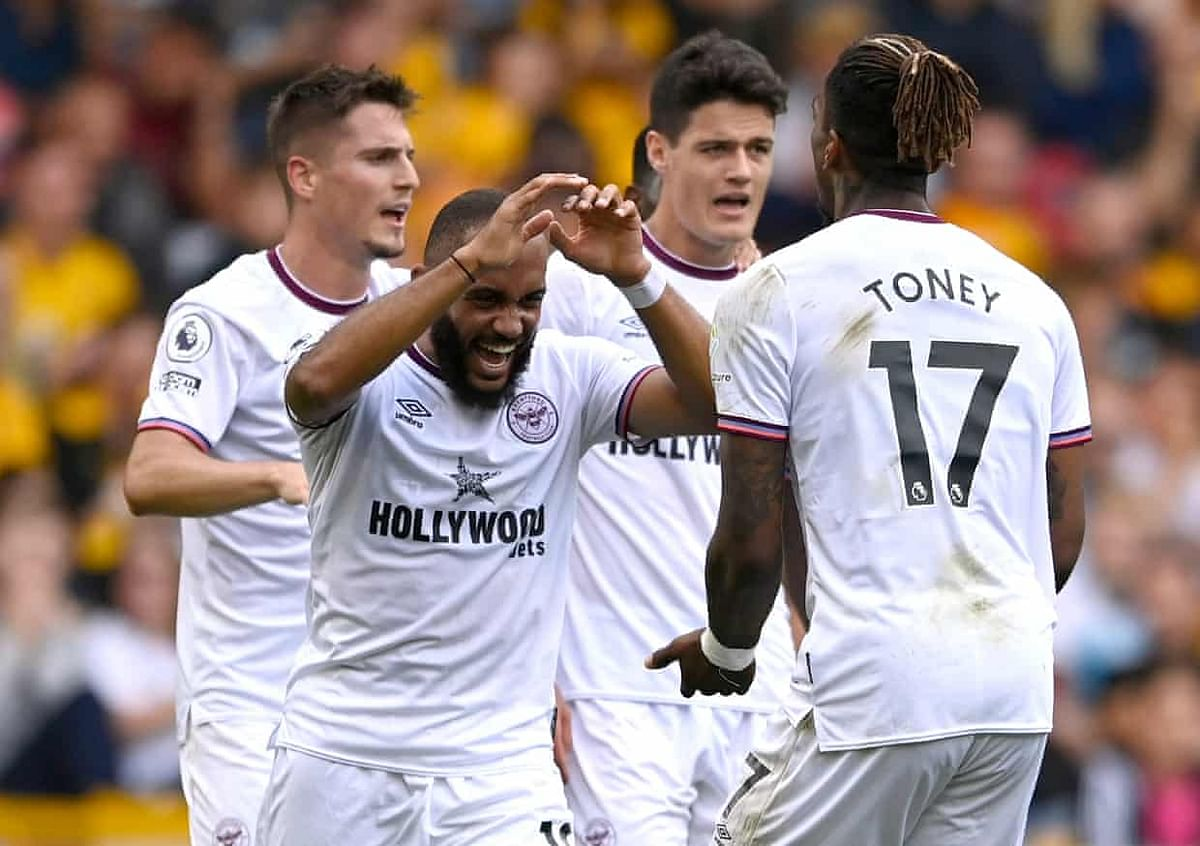 EPL: 10-man Brentford sink Wolves to third consecutive home defeat
