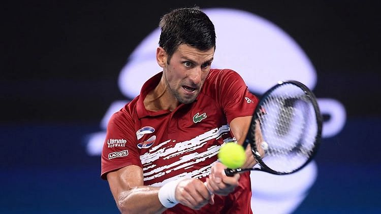 Djokovic energized by Laver link, Federer and Nadal feats