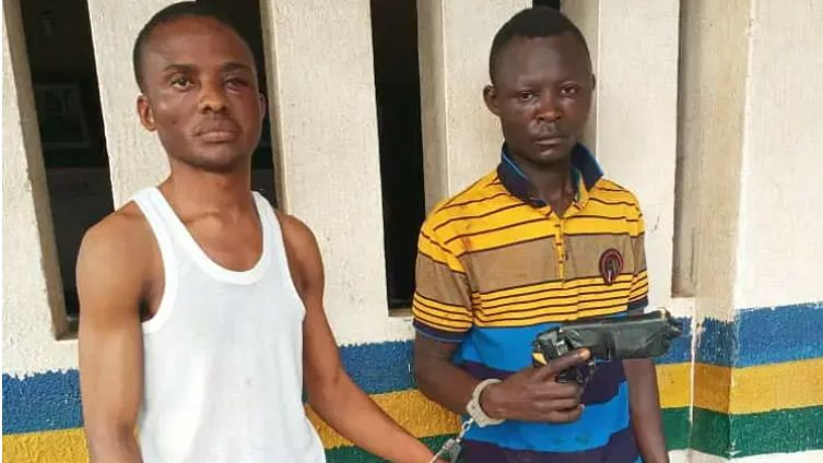Police parade Microfinance employee, accomplice for robbery in Ogun