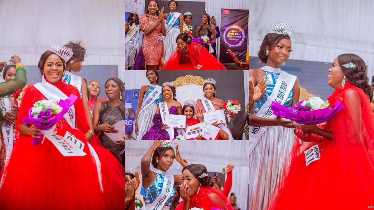 PHOTOS: Wende Oluwaseun Beatrice crowned Miss South West Nigeria