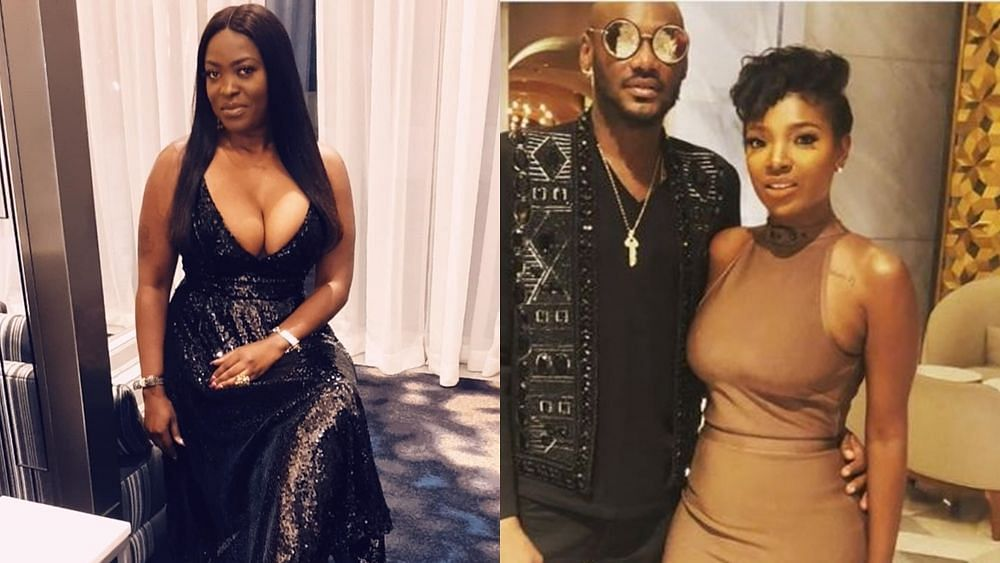 VIDEO: Watch Annie Idibia's epic reaction to 2baba, Pero hookup rumour