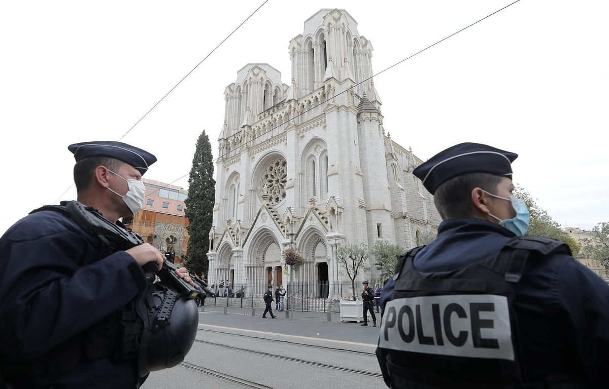 Woman, 77, found beheaded in France