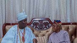 Ooni @ 47: Oyetola fetes monarch's contribution to youth empowerment, national development