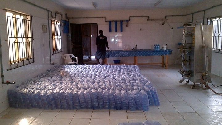 Nigerians lament as 'pure water' now sells for N300, N400 per bag