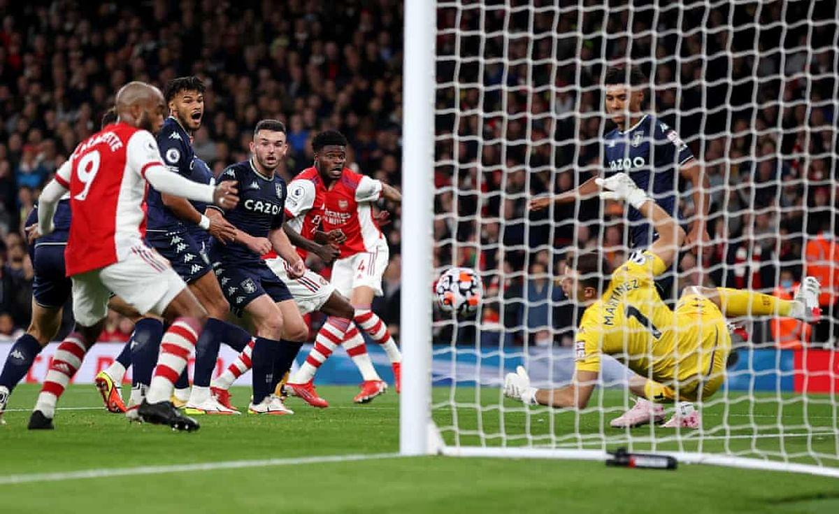 EPL: Arsenal beat Aston Villa to move ninth