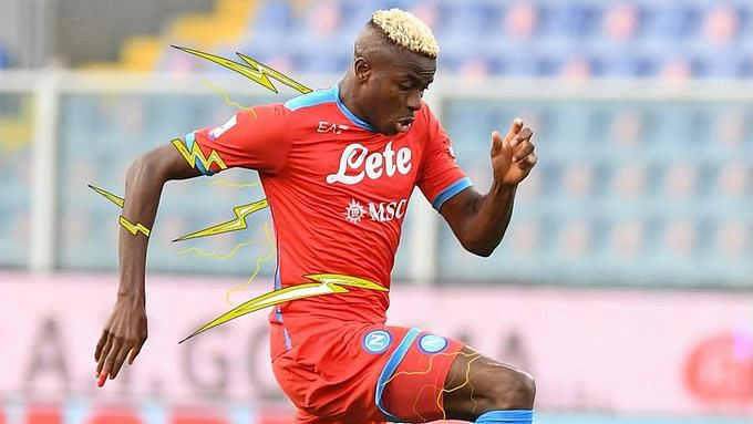 Super Eagles' Osimhen wins Serie A Player of the Month award