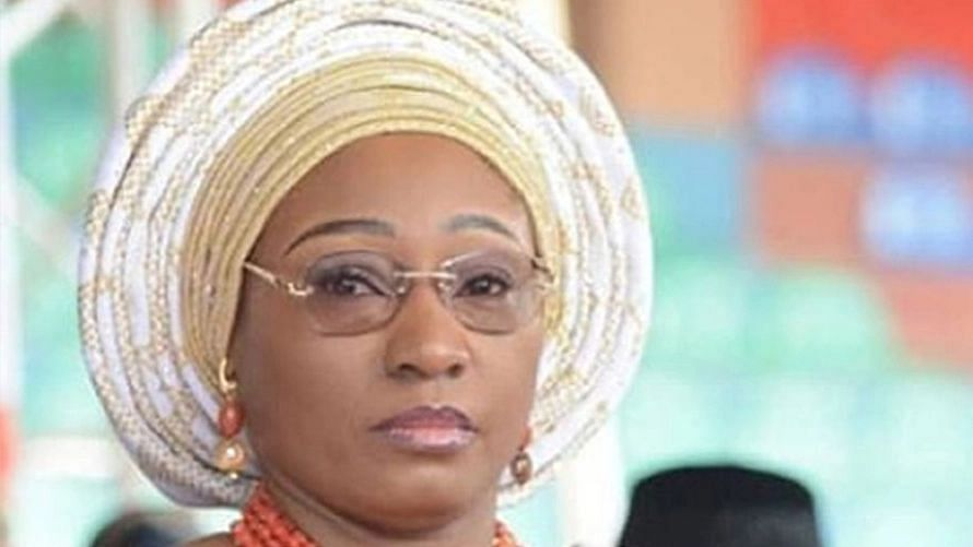 Receiving gifts from men can lead to rape, Fayemi's wife tells ladies