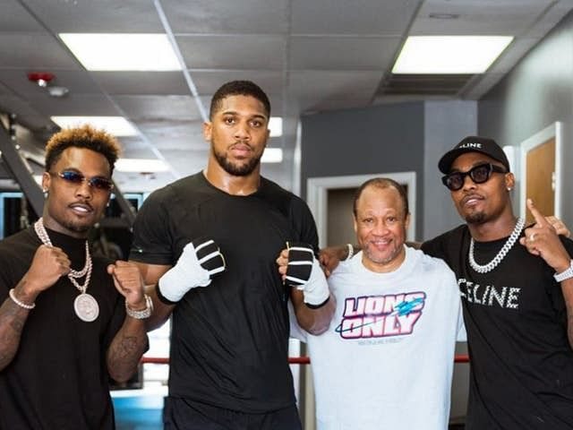 Joshua trains with Tyson, Holyfield's ex-trainer ahead of Usyk rematch