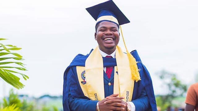 I bagged my certificate one year after I got expelled, Mr Macaroni shares graduation photos
