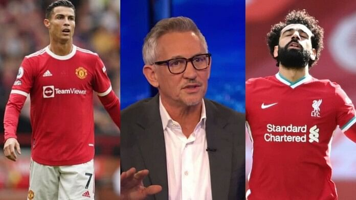 Salah, not Ronaldo, should've won Player of the Month - Linekar