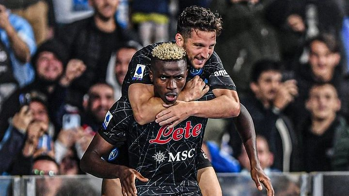 High-flying Osimhen reacts to 'unbelievable' scene after winner against Torino