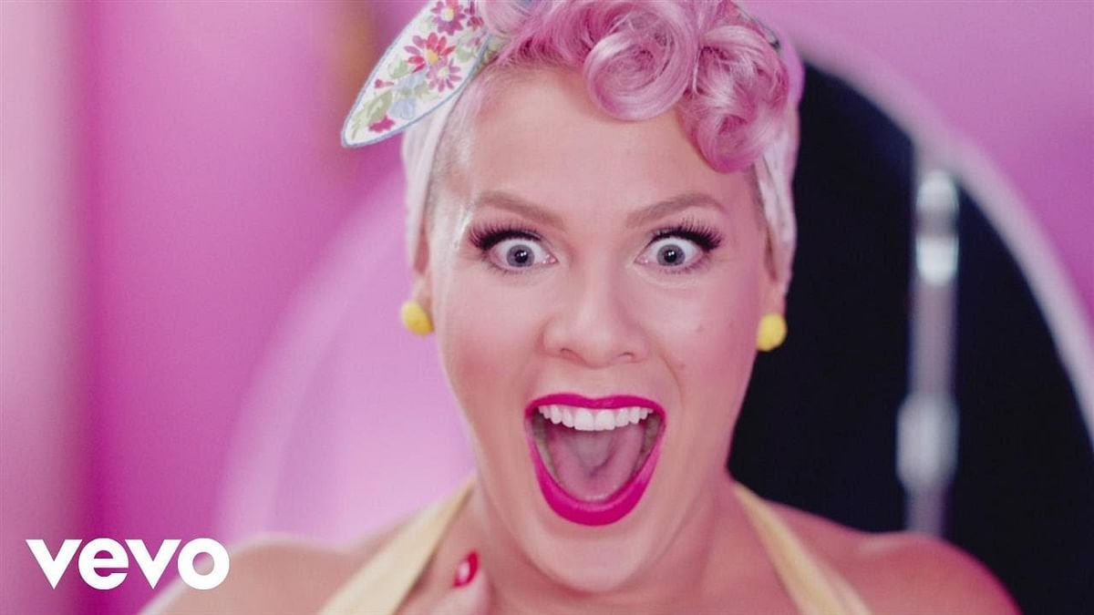 American singer Pink becomes UK's most-played female Artist Of The Century