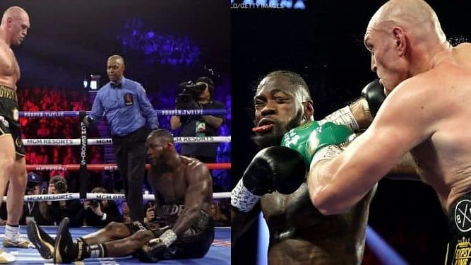Deontay Wilder hospitalised after kissing the canvas four times in brutal defeat to Fury