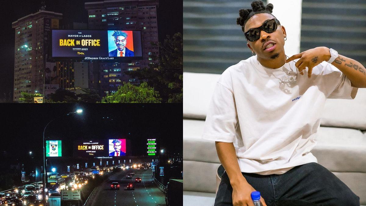 Mayorkun to release 'Back In Office' album Oct 29