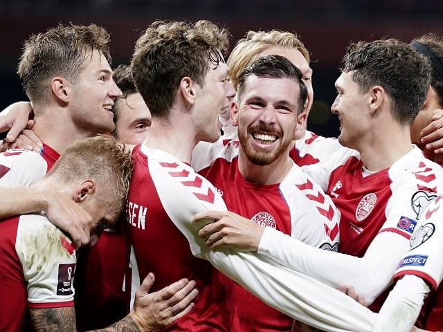 Denmark beat Austria to qualify for 2022 World Cup