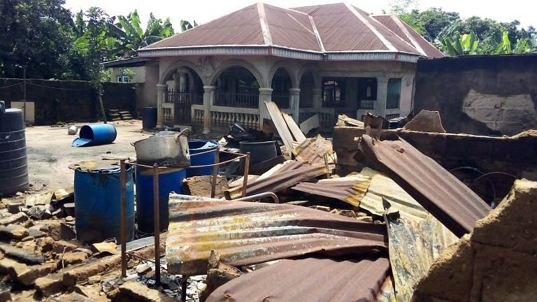 Imo community counts losses after security operatives raid oil thieves