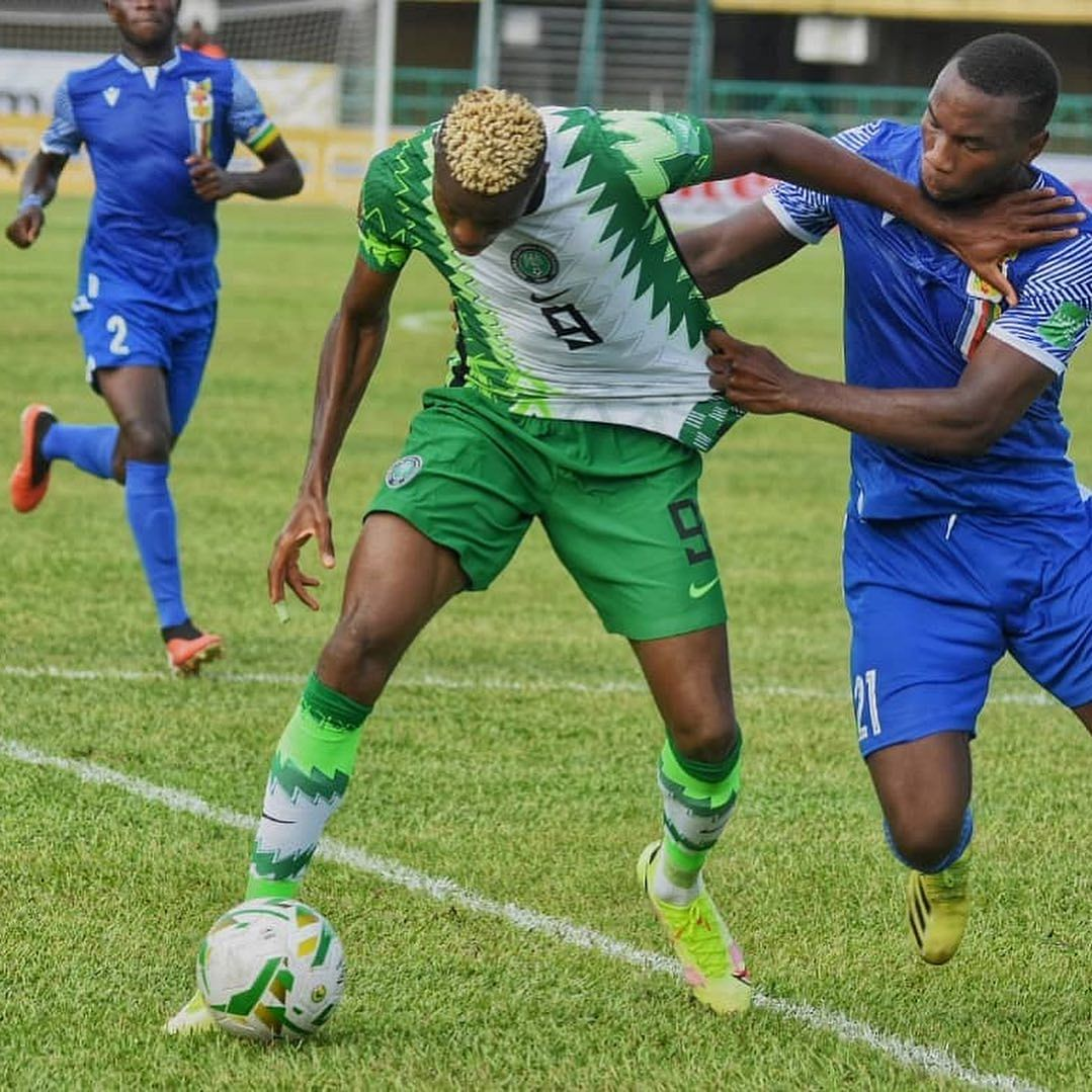 W/C Qualifiers: CAR sink Nigeria with late winner in Lagos