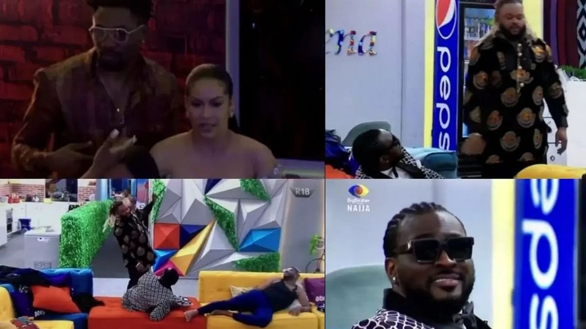 [VIDEO] BBNaija: Pere rants about 'cold treatment' from Maria during Saturday night party