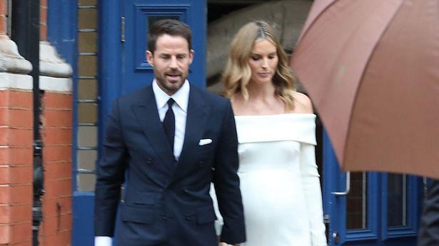 Ex-footballer Jamie Redknapp weds pregnant girlfriend Frida in low-key ceremony