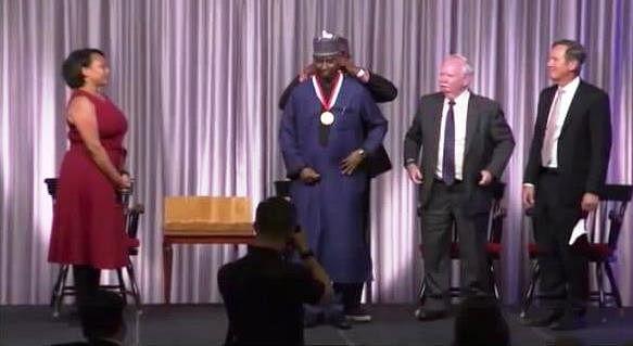 Nigeria's UN envoy Bande bags Boston varsity Alumni Award