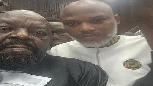 Court adjourns trial as Nnamdi Kanu pleads not guilty