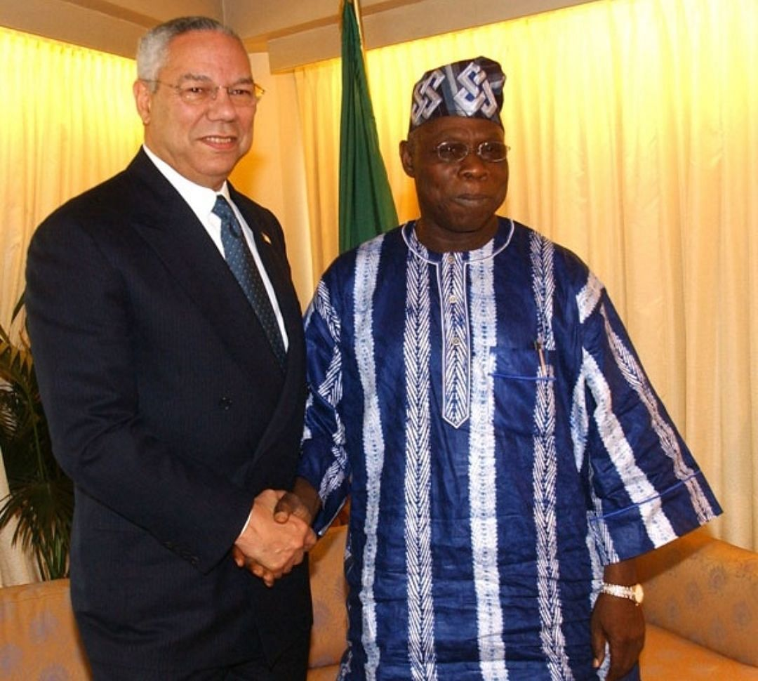 Colin Powell's death 'great loss to the world', Obasanjo mourns