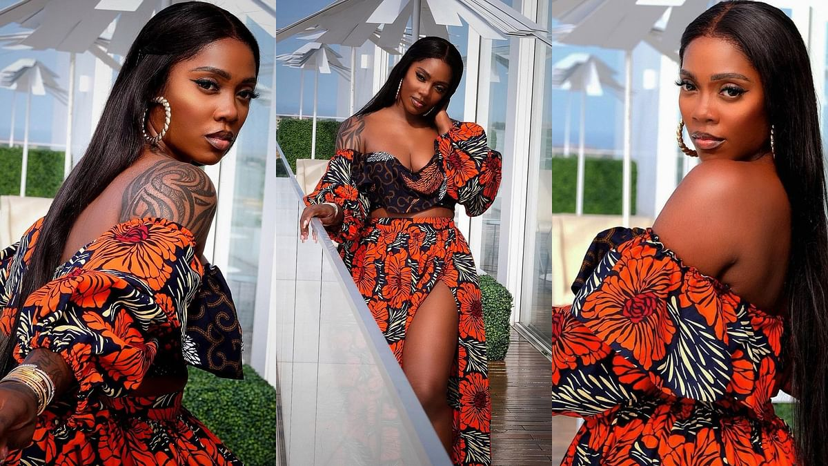 I'm being blackmailed, Tiwa Savage agonises over s3x tape with lover