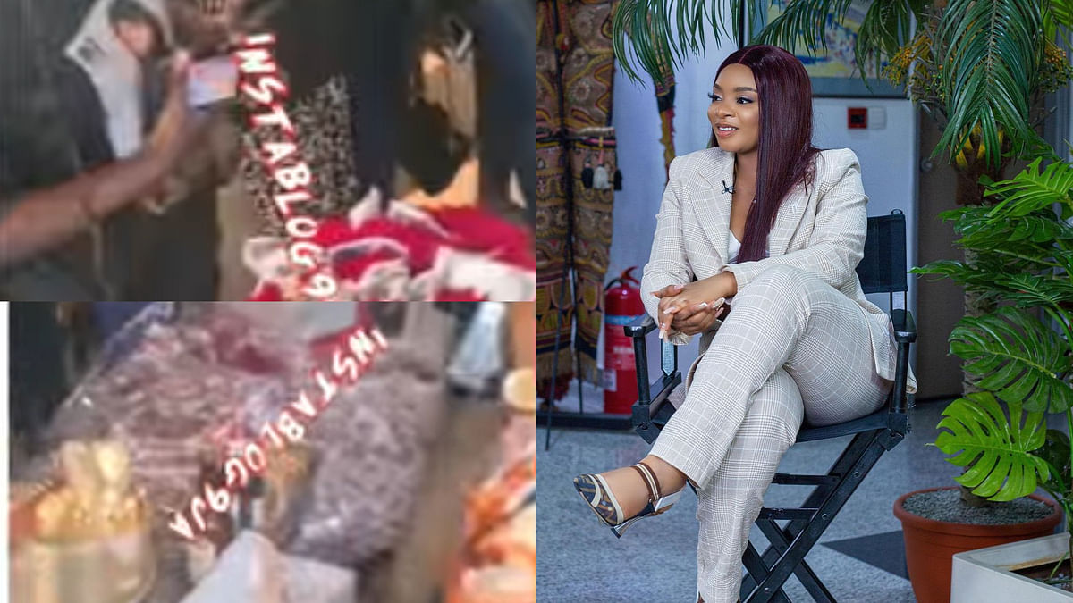 VIDEO: Fans shower BBNaija's evicted housemate Queen with gifts