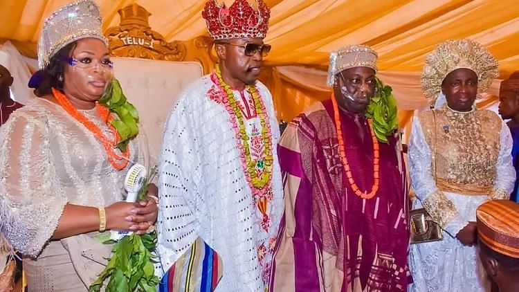 PHOTOS: Dele Momodu, wife conferred with chieftaincy titles in Osun