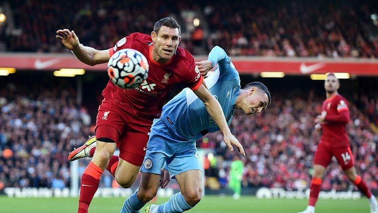 Man City hold Liverpool in EPL cracker