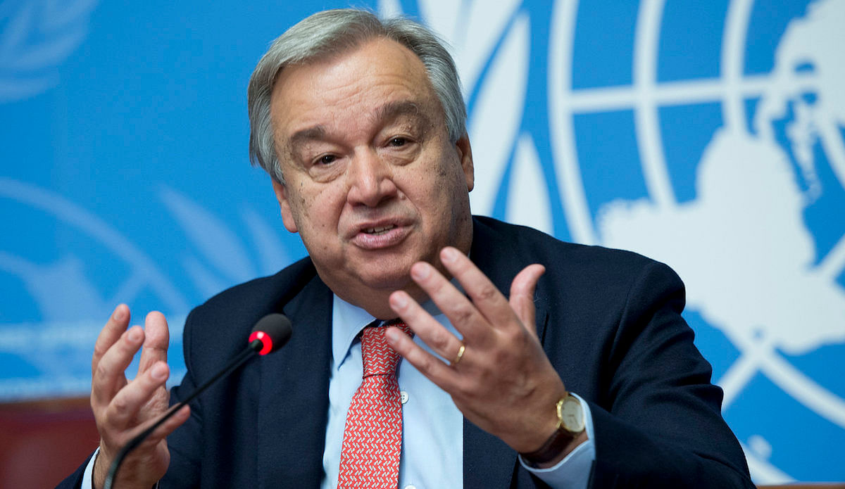 Guterres charges world on Gandhi's message of peace, tolerance