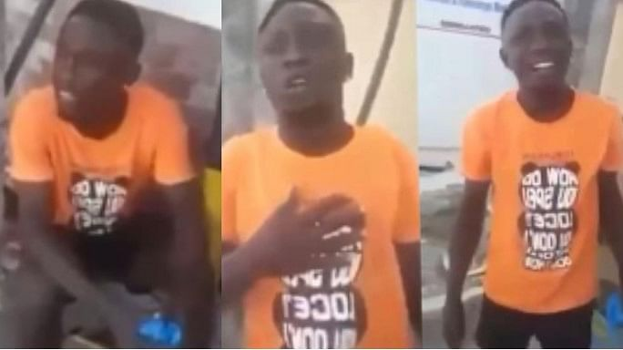 VIDEO: Reactions as Man declares intention to use parents for money ritual