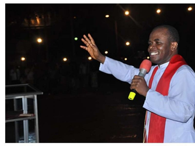 Contracts: Garba Shehu's accusation laughable, childish – Father Mbaka