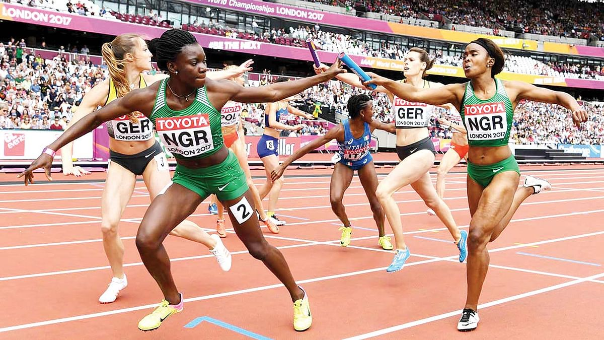 Olympics: Team Nigeria finishes last in 4x400m mixed relay race