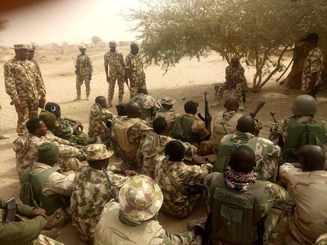 Theatre Commander hails troops' exploits at Mallam Fatori, Damasak