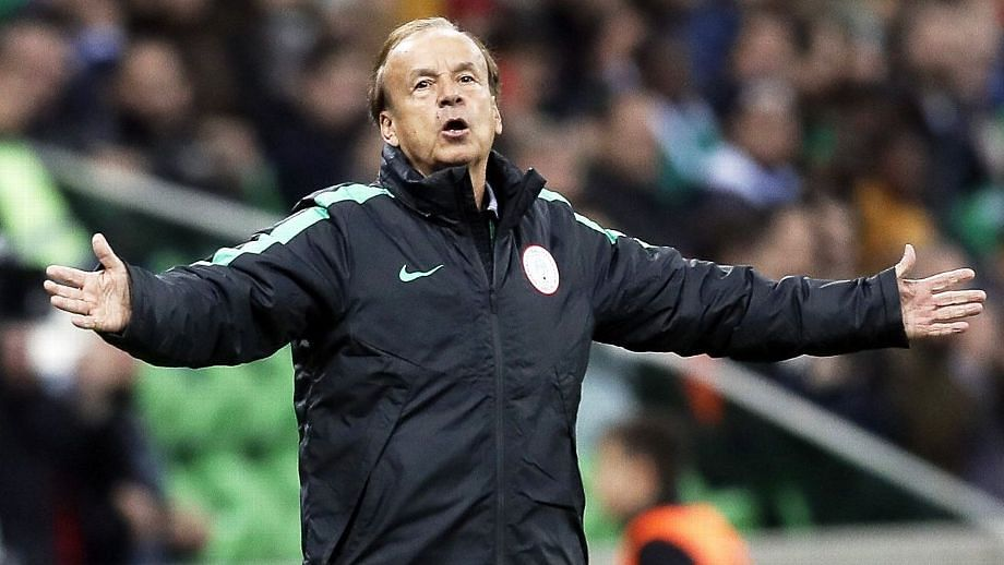 NFF owes Rohr eight months salary