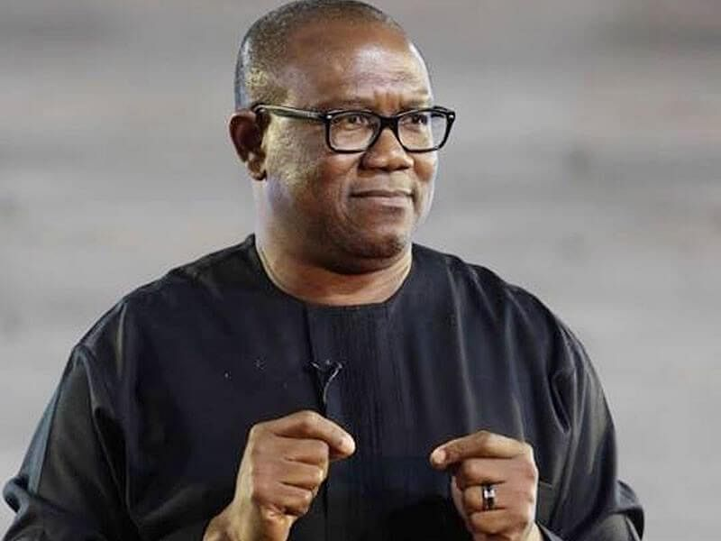 Peter Obi trapped in Onitsha traffic as illegal levy collectors block road